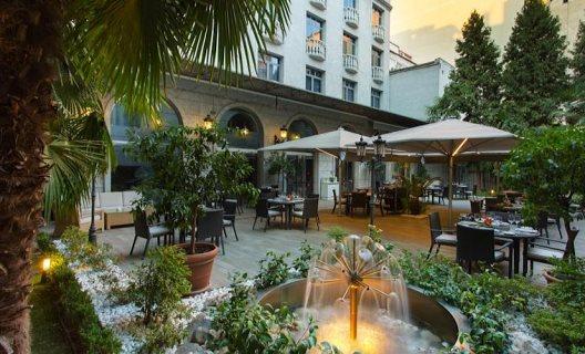 Hotel jardin de recoletos madrid madrid for Jardin recoletos