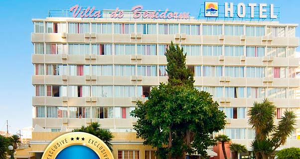 Hotel magic villa benidorm benidorm alicante - Apartamentos carolina benidorm ...