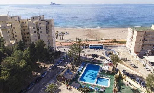 Hotel poseid n playa benidorm alicante for Hotel poseidon playa