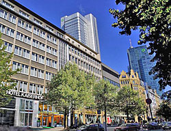 Hotel Quality Kaiserhof Frankfurt City Center