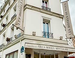 Hotel Villa Royale Montsouris