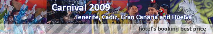 Carnival of Tenerife, Cadiz, Gran Canaria, Venecia, Río de Janeiro...