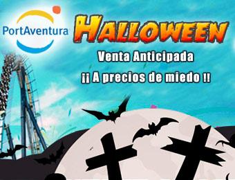 Halloween PortAventura Hotel + Entradas hasta 50% Descuento