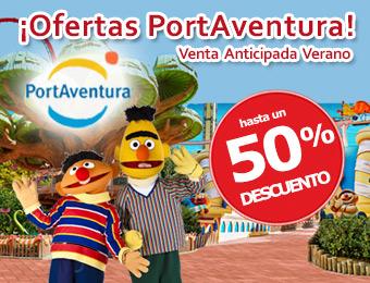 Compra tu Hotel + Entradas Ofertas Verano PortAventura 50% Descuento