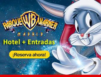 Compra tu Hotel + Entradas Ofertas Parque Warner Madrid