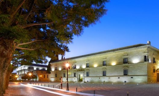 We stayed just one night at Parador de Ubeda